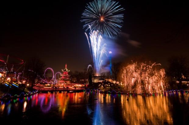 Copenhagen-Denmark-New-Year-Fireworks